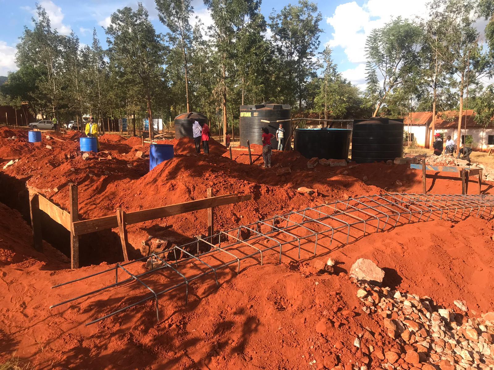 Construcció nova escola